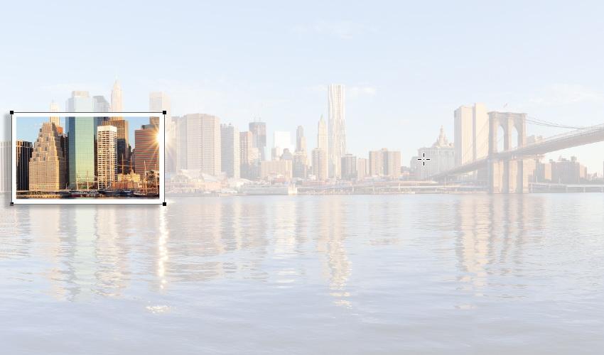 اکشن جلوه کولاژ عکس با فتوشاپ