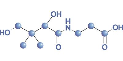 ساختمان شیمیایی اسید پانتوتنیک