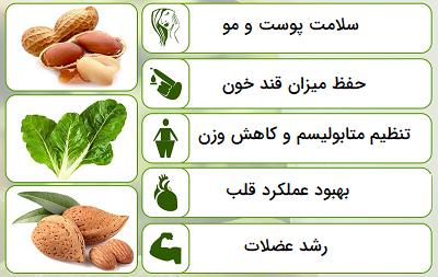 فواید و عملکردهای ویتامین ب ۷ در بدن