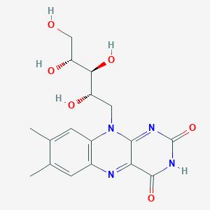 ساختمان شیمیایی ویتامین ب ۲