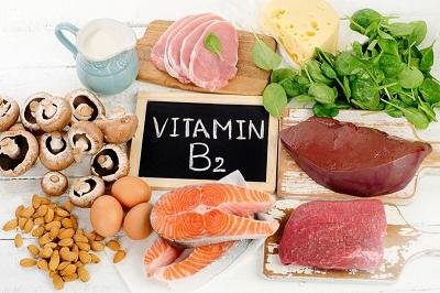 منابع غذایی ویتامین ب ۲