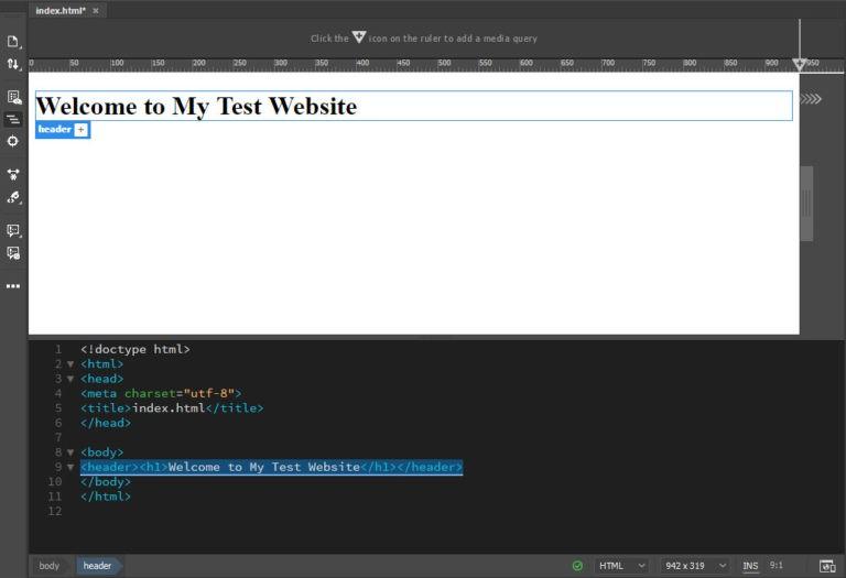 ویرایش عنوان صفحه در HTML