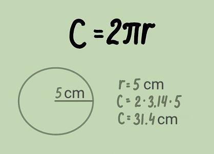محاسبه محیط دایره