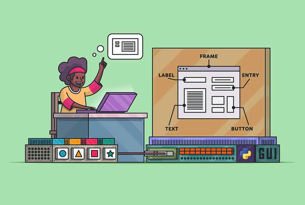ساخت سریع UI در پایتون | به زبان ساده