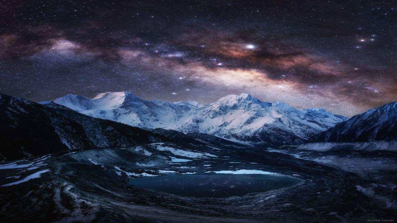 راه شیری بر فراز رشته کوه هیمالیا — تصویر نجومی روز