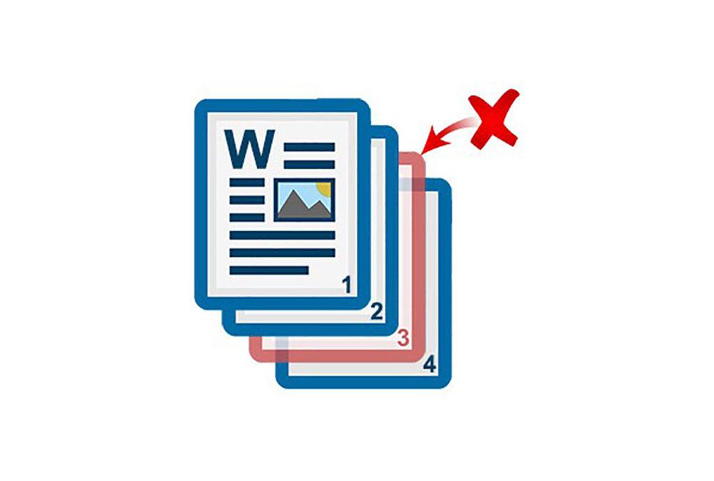 حذف صفحه در ورد   به زبان ساده