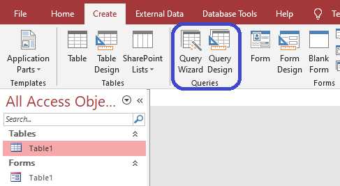 queries in access