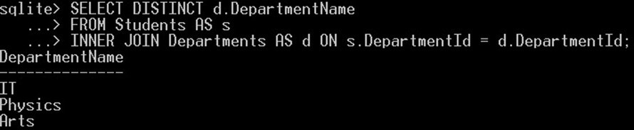 آموزش دیتابیس SQLite