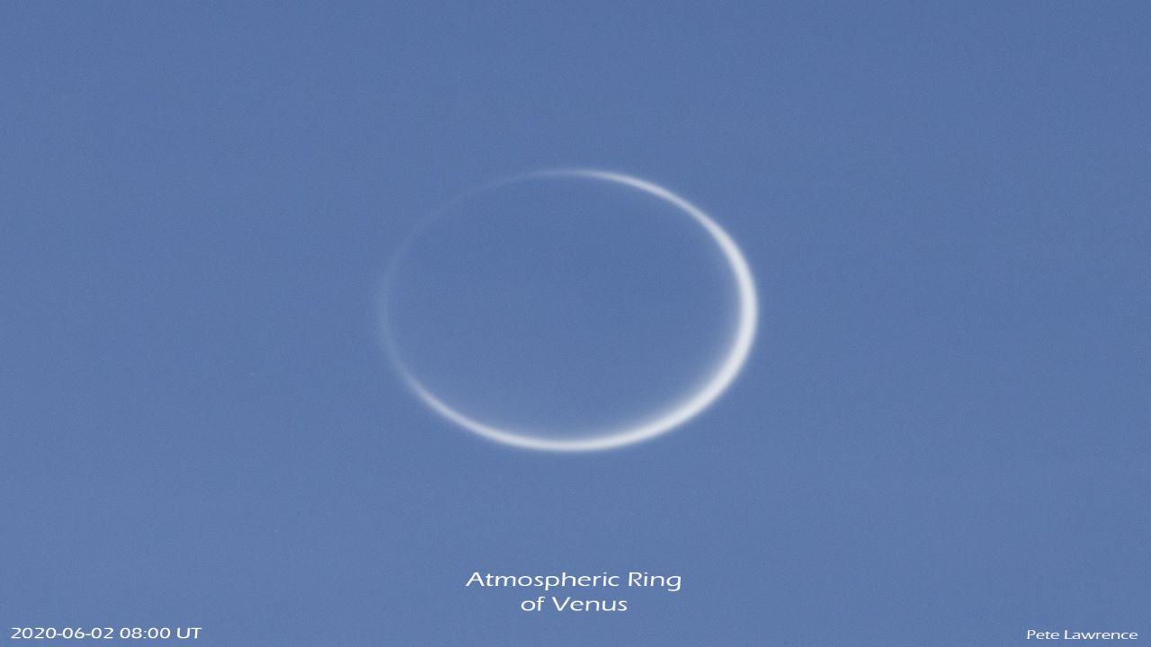 حلقه جوی زهره — تصویر نجومی روز