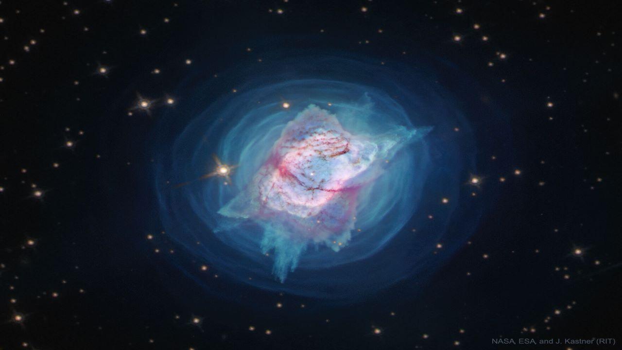 سحابی سیاره نمای NGC 7027 — تصویر نجومی روز