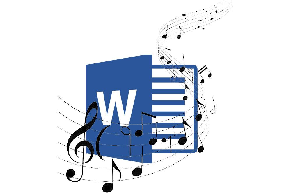 نوشتن نت موسیقی در ورد — به زبان ساده