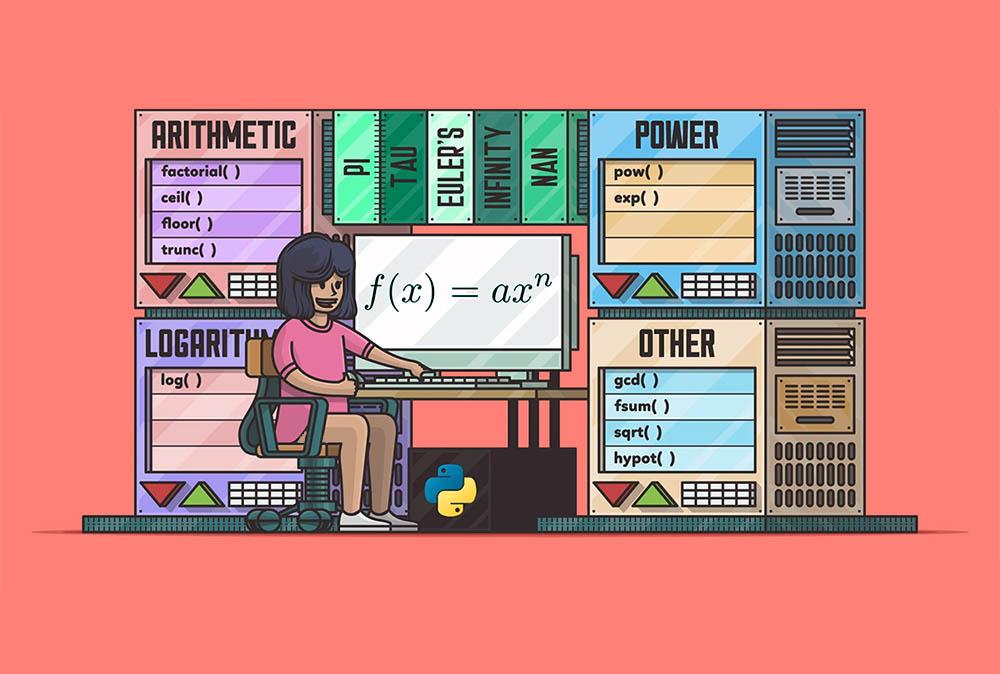 آشنایی با ماژول Math در پایتون — از صفر تا صد