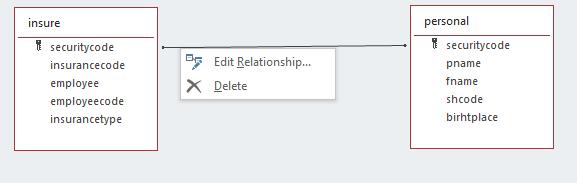 delete relationship