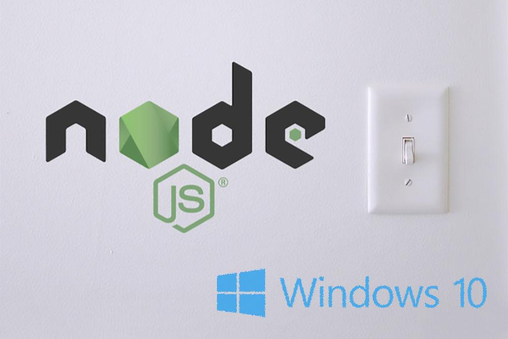 پیکربندی محیط توسعه Node.js روی ویندوز ۱۰ — از صفر تا صد