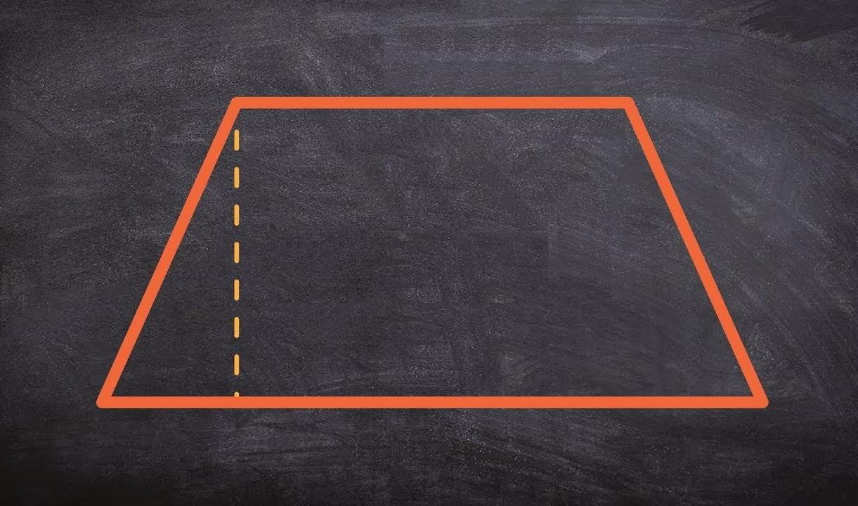 محاسبه مساحت ذوزنقه — به زبان ساده
