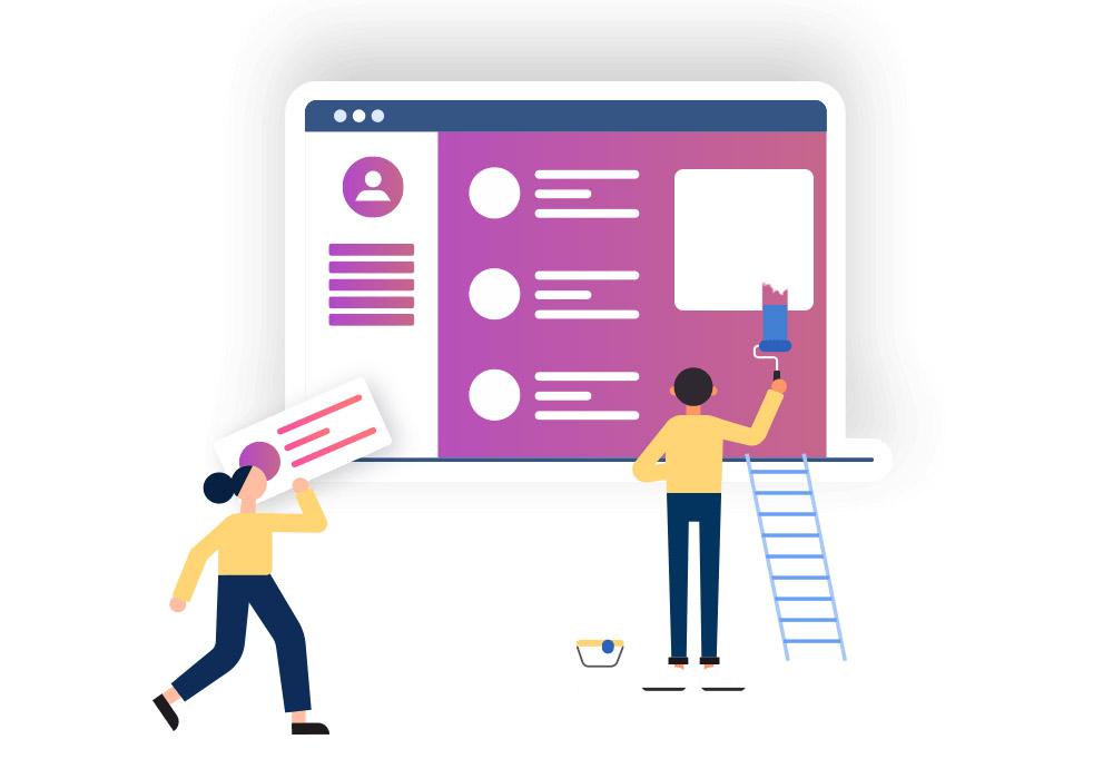 آموزش طراحی قالب بلاگفا — گام به گام و تصویری