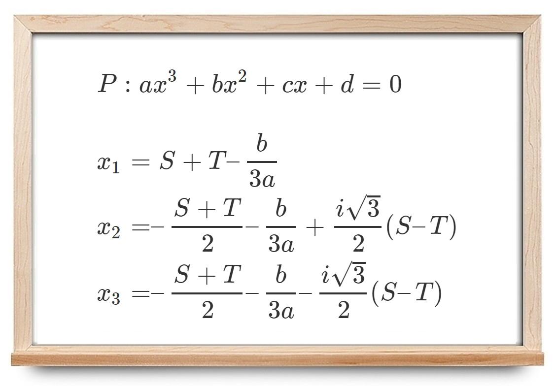 فرمول کاردانو — به زبان ساده