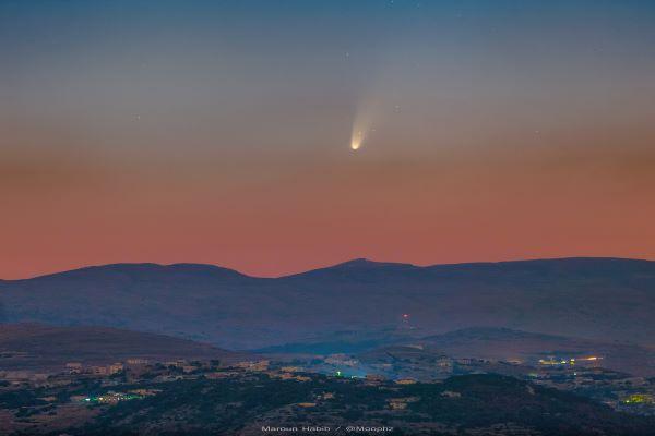 دنباله دار نئووایز (Comet NEOWISE)