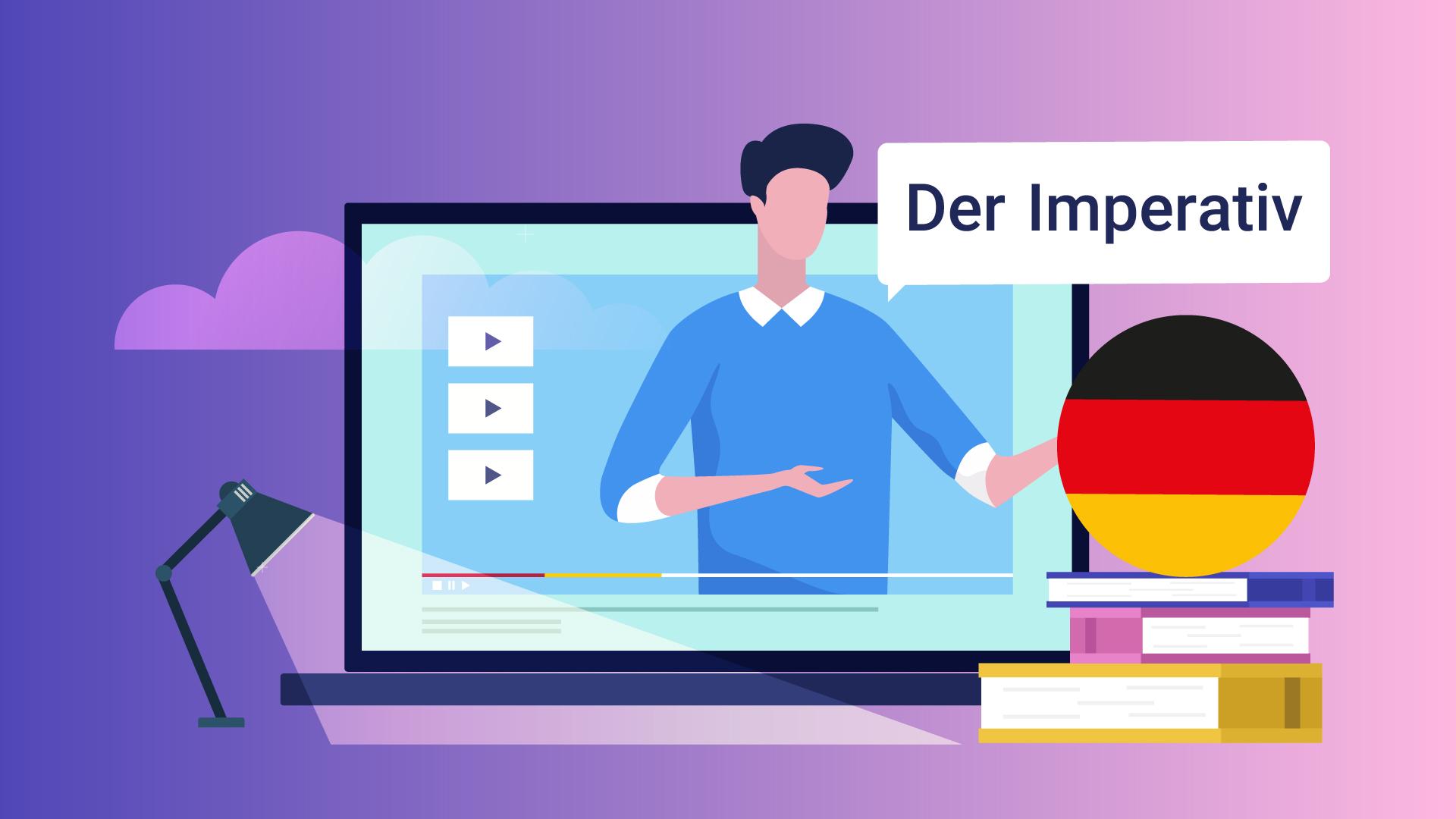افعال امری در زبان آلمانی — آموزک [ویدیوی آموزشی]