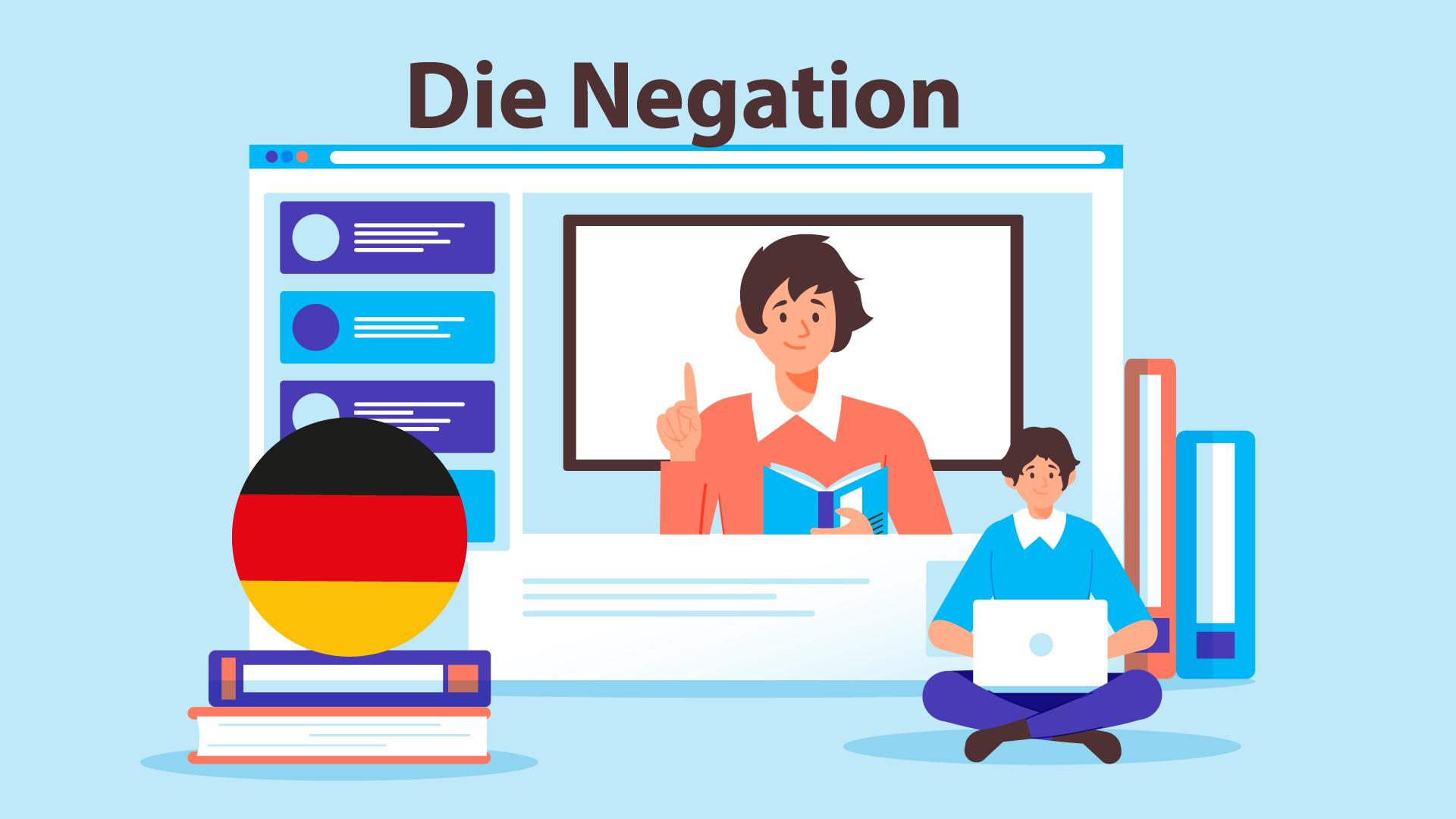 منفی کردن در زبان آلمانی — آموزک [ویدیوی آموزشی]