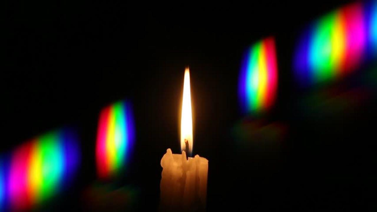 طیف پراش شمع — ویدیوی علمی
