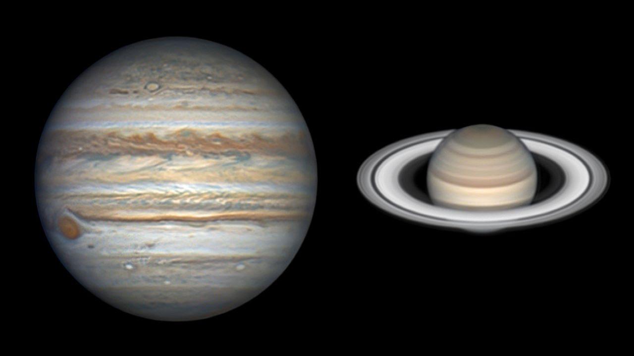 سیاره های غول پیکر در آسمان تابستان — تصویر نجومی روز