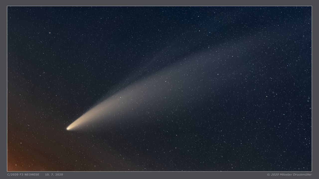 دنباله های دنباله دار نئووایز — تصویر نجومی روز