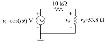 مدل سیگنال کوچک دیود