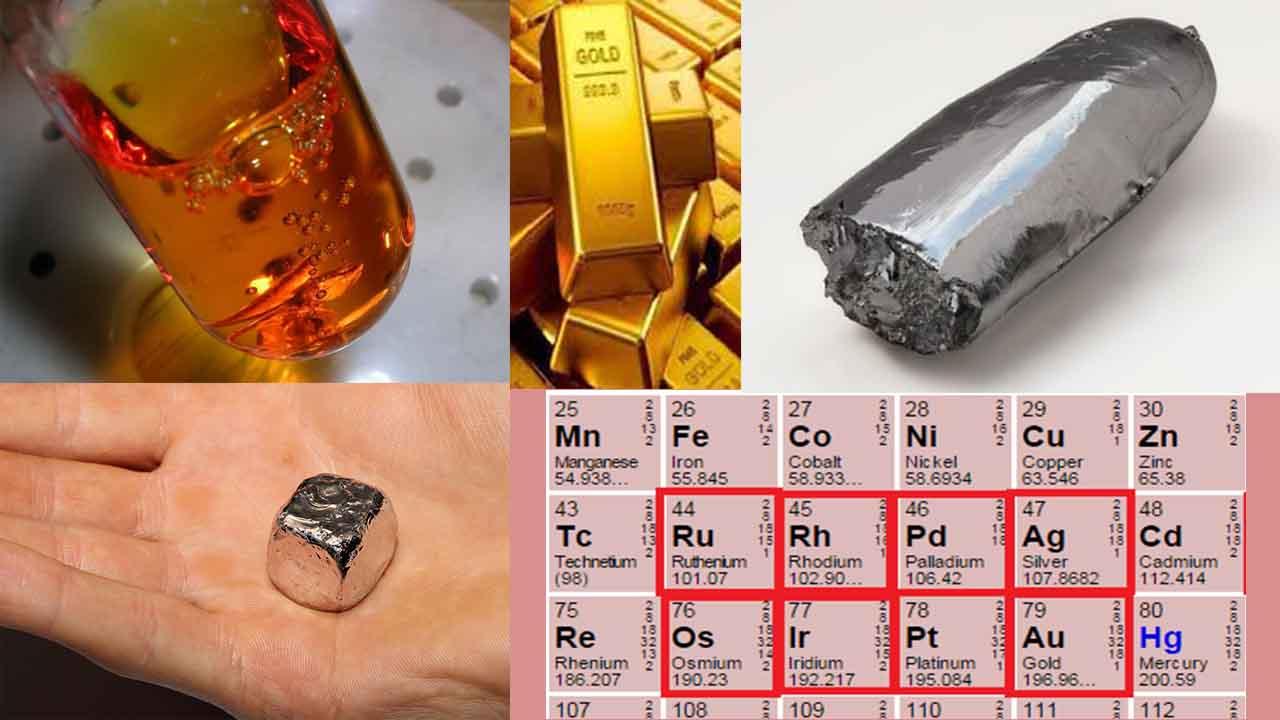 فلزات نجیب و خواص آنها — به زبان ساده