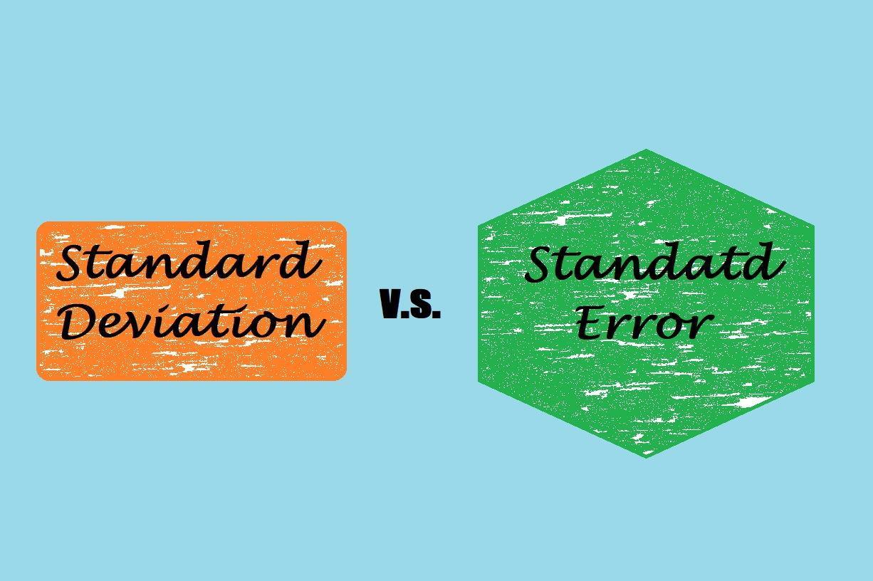 انحراف استاندارد و خطای استاندارد — از صفر تا صد