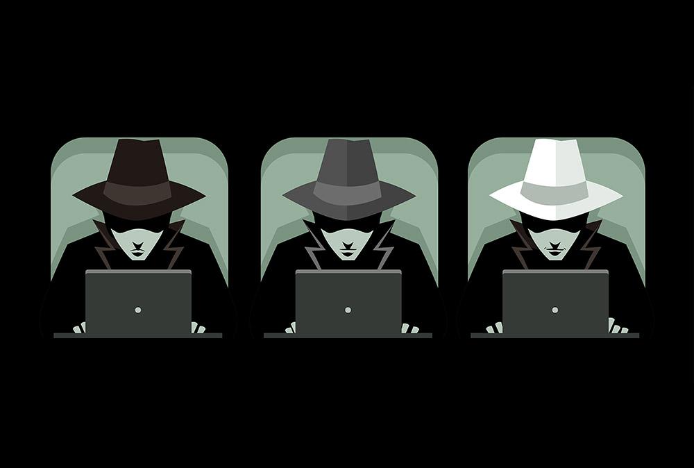 آشنایی با عنوان هکرها — هکر کلاه سفید | هکر کلاه سیاه | هکر کلاه خاکستری