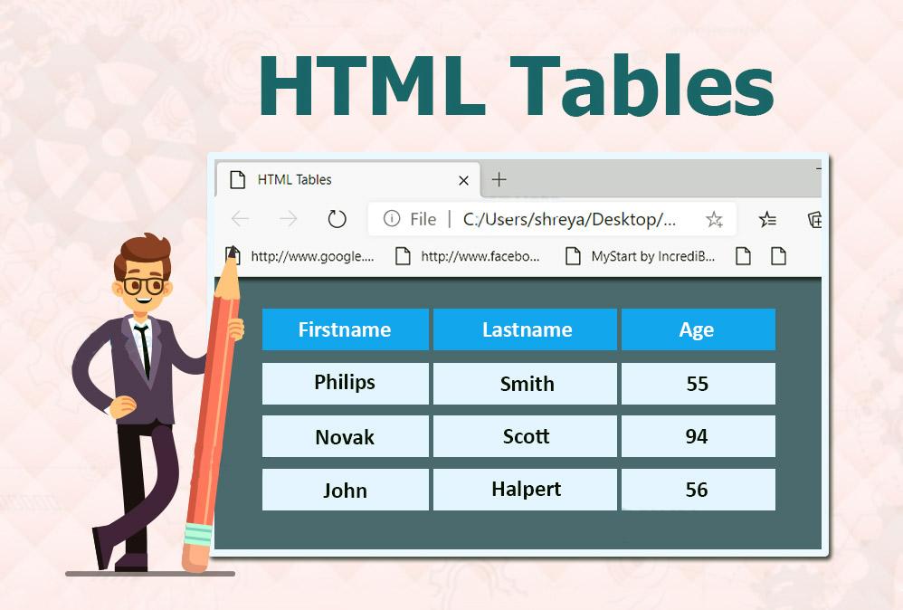 ساخت جداول HTML با جاوا اسکریپت — از صفر تا صد