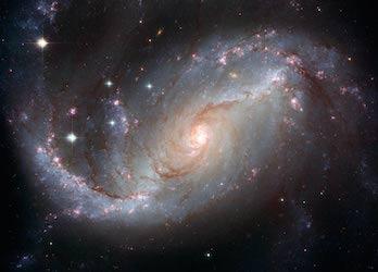 کهکشان مارپیچ بسته