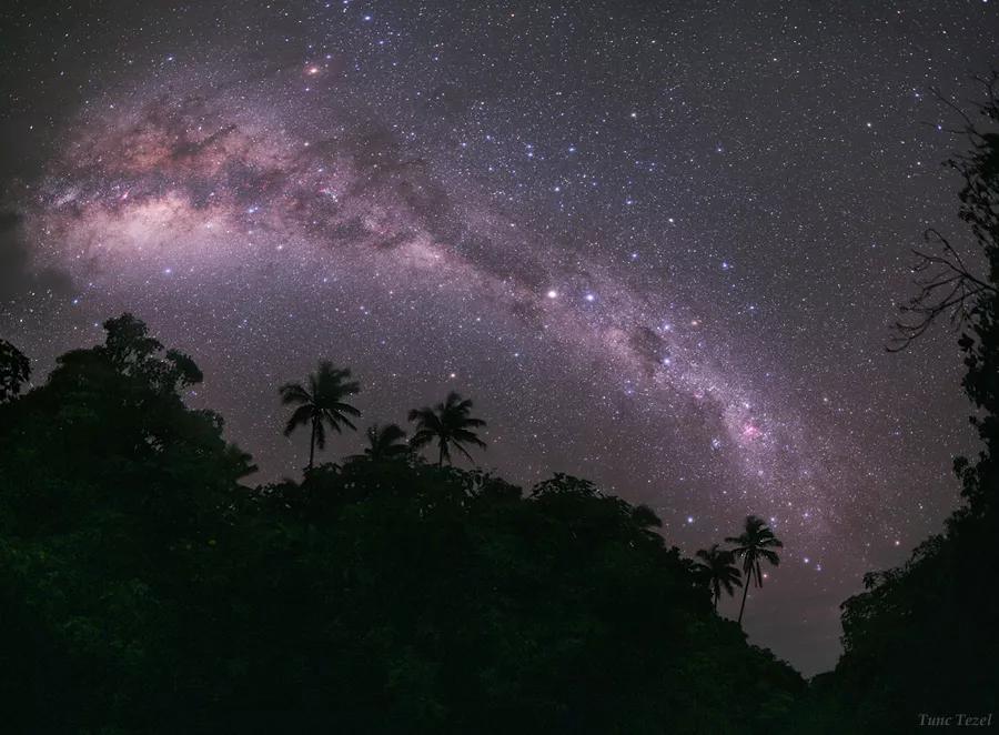 نمای کهکشان راه شیری