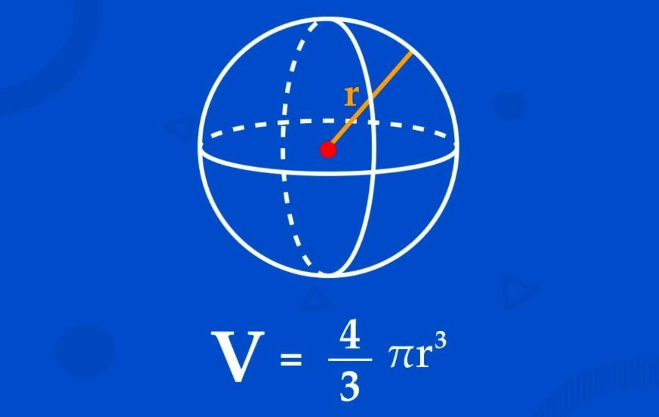 حجم کره و محاسبه آن | به زبان ساده