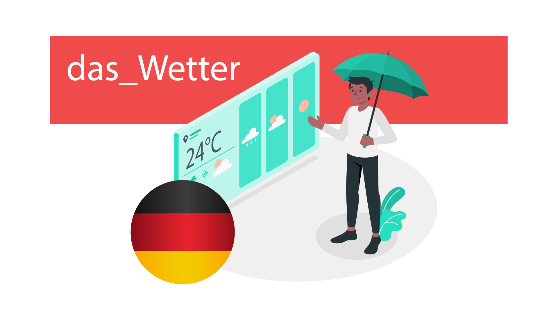 آب و هوا در زبان آلمانی  — آموزک [ویدیوی آموزشی]