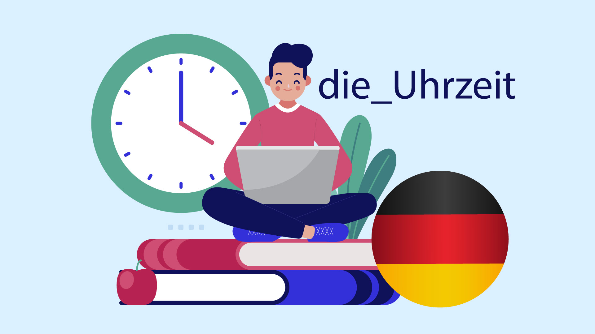ساعت در زبان آلمانی — آموزک [ویدیوی آموزشی]