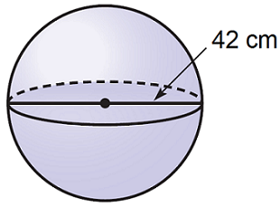 حجم کره