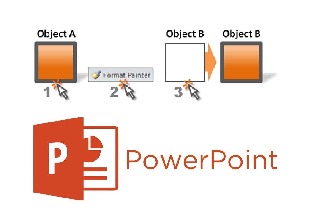 استفاده از Format Painter برای قالب بندی پاورپوینت | به زبان ساده