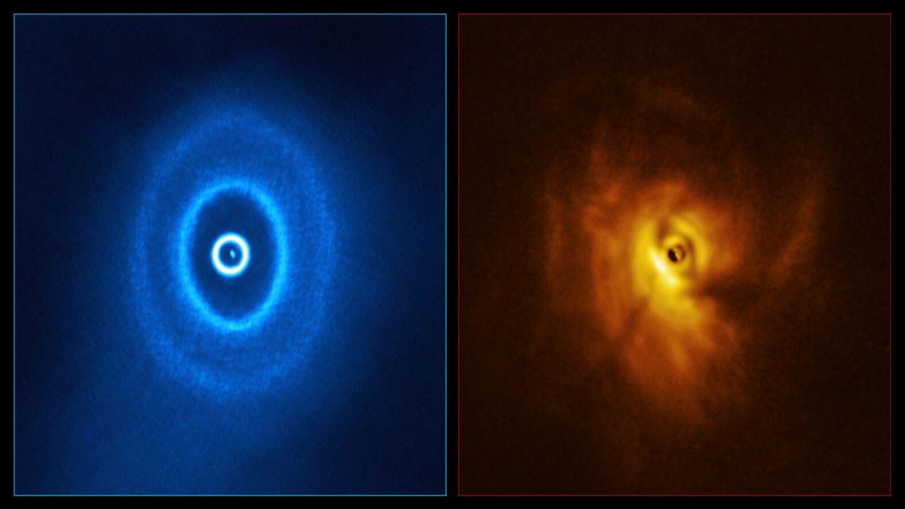 سامانه ستاره ای GW شکارچی — تصویر نجومی