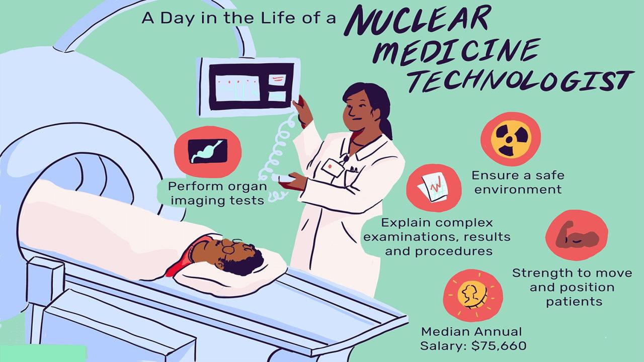 رشته پزشکی هسته ای | معرفی گرایش ها، حقوق و درآمد و بازار کار