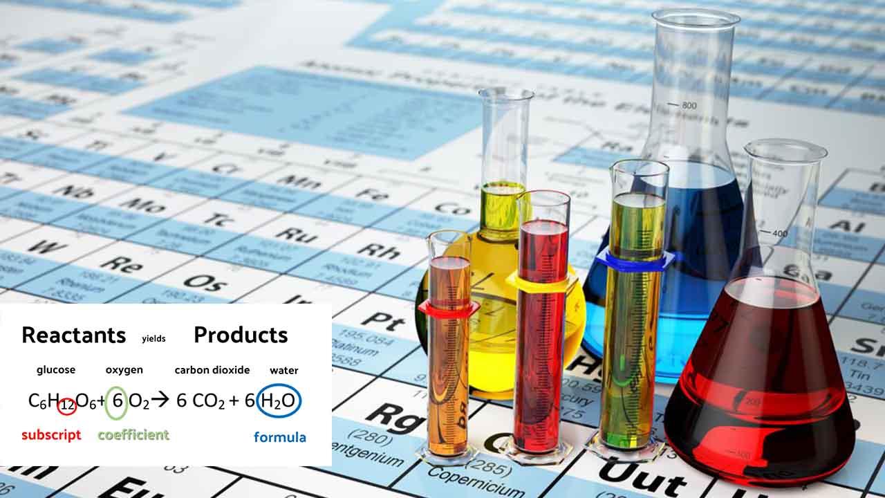 معادله شیمیایی چیست؟ — به زبان ساده