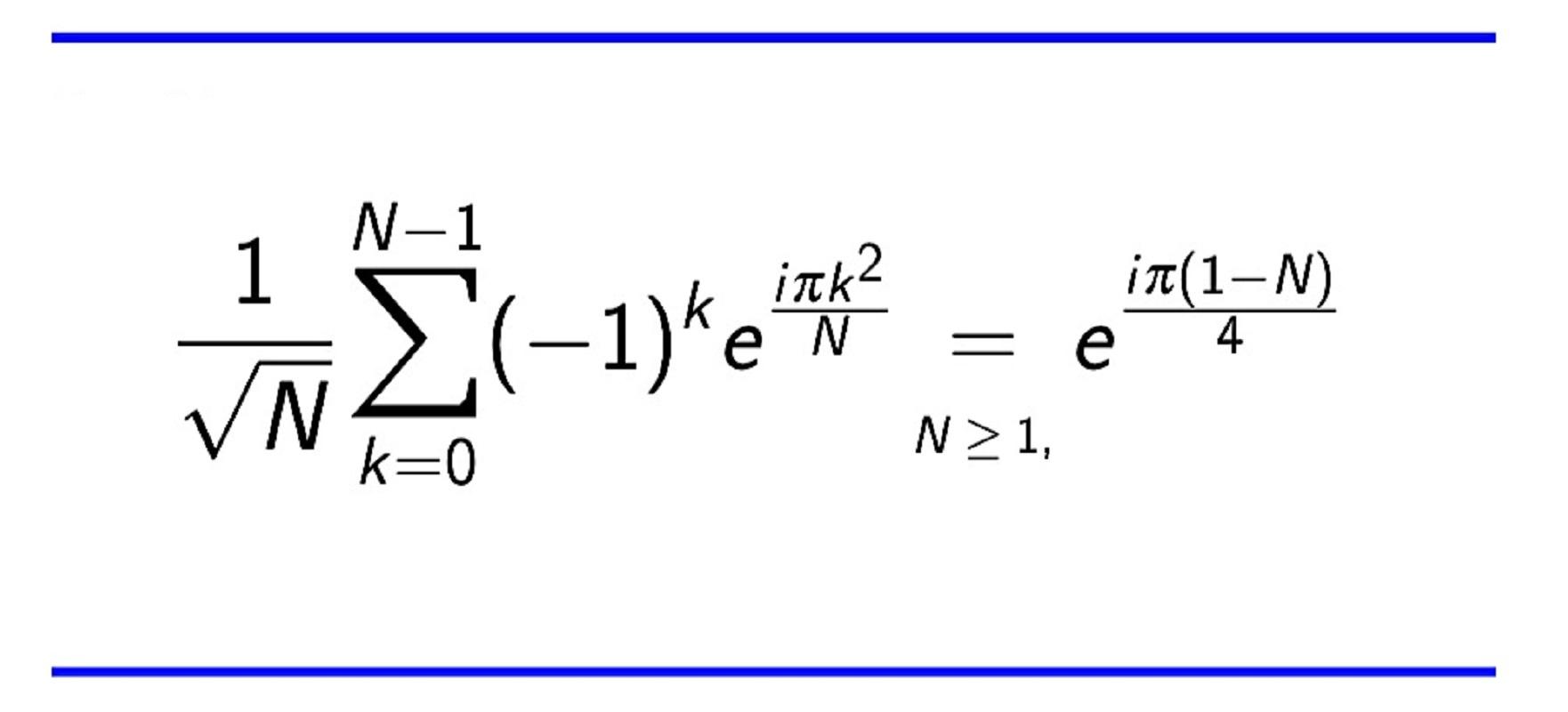 مجموع گاوس در ریاضیات | به زبان ساده