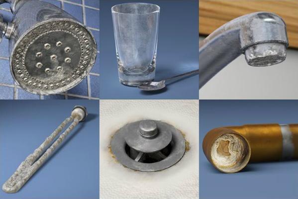 رسوبات ناشی از آب سخت