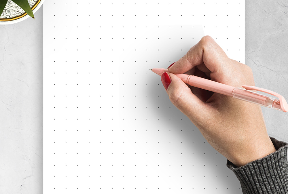 طراحی کاغذ شطرنجی در ورد | به زبان ساده