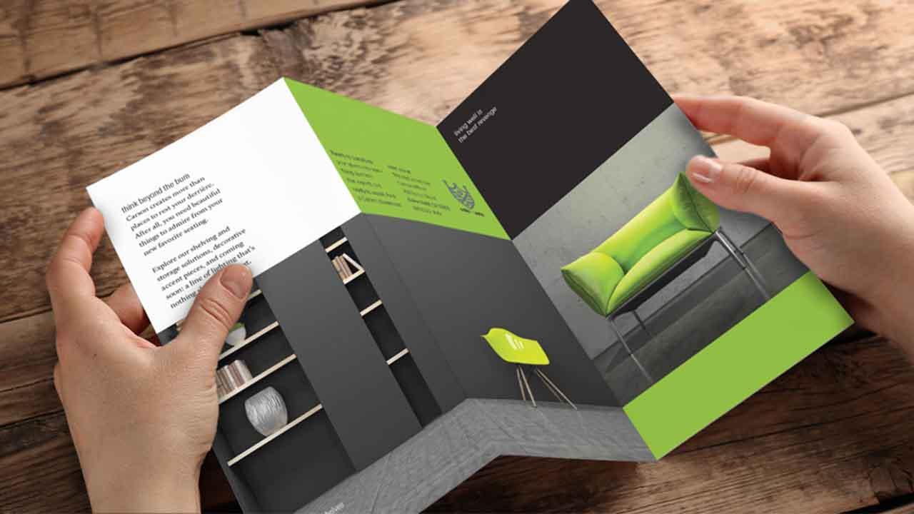 طراحی بروشور با فتوشاپ | گام به گام و زبان ساده