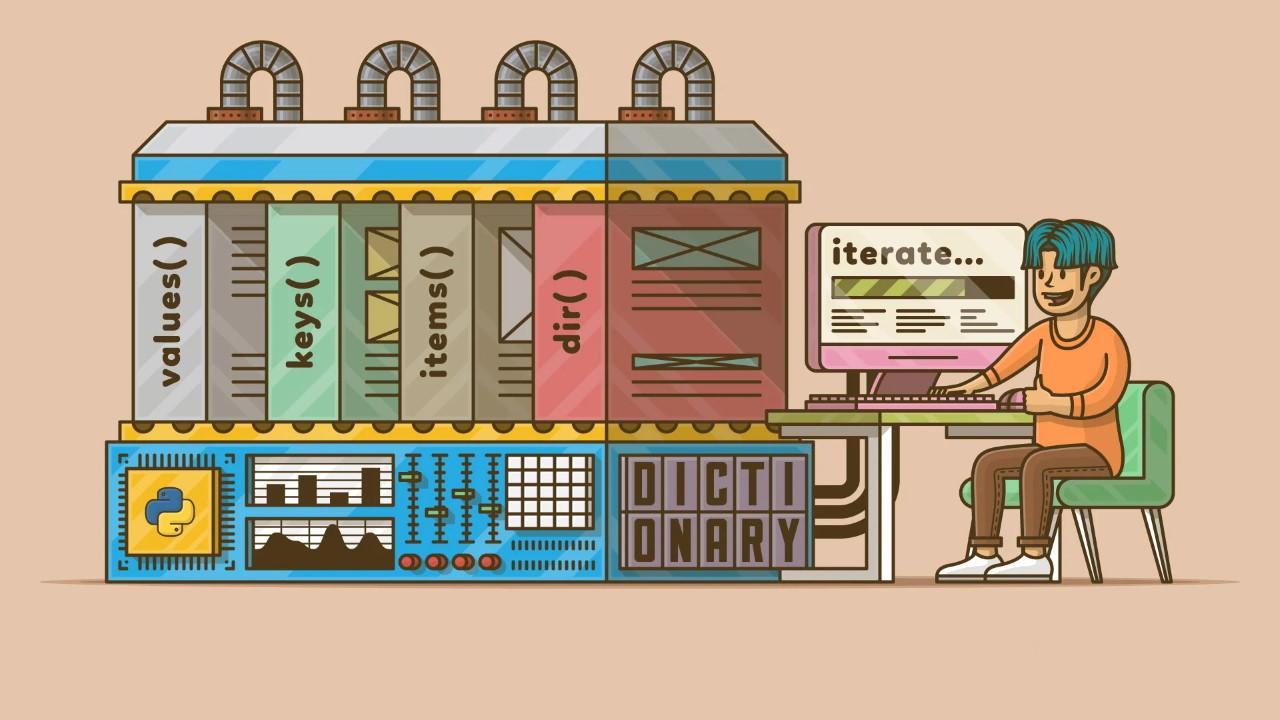 نوع داده دیکشنری در پایتون | به زبان ساده