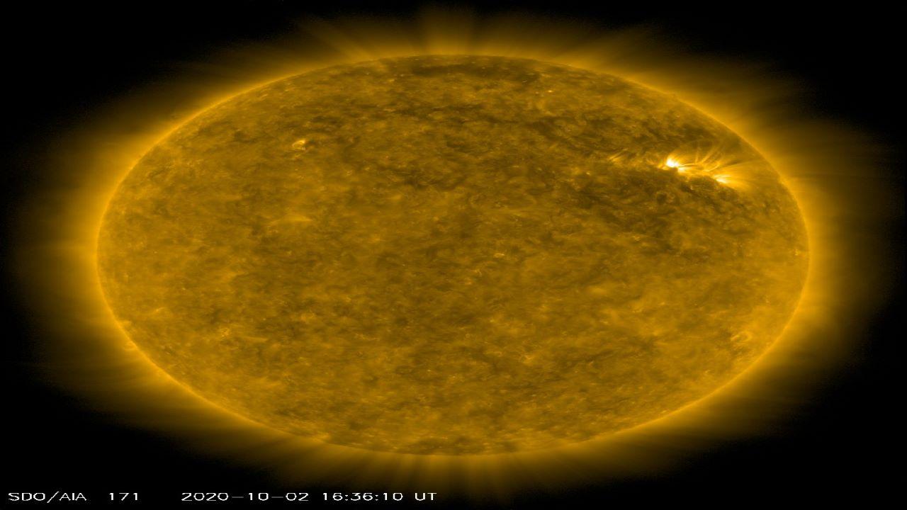 سفر به خورشید — تصویر نجومی