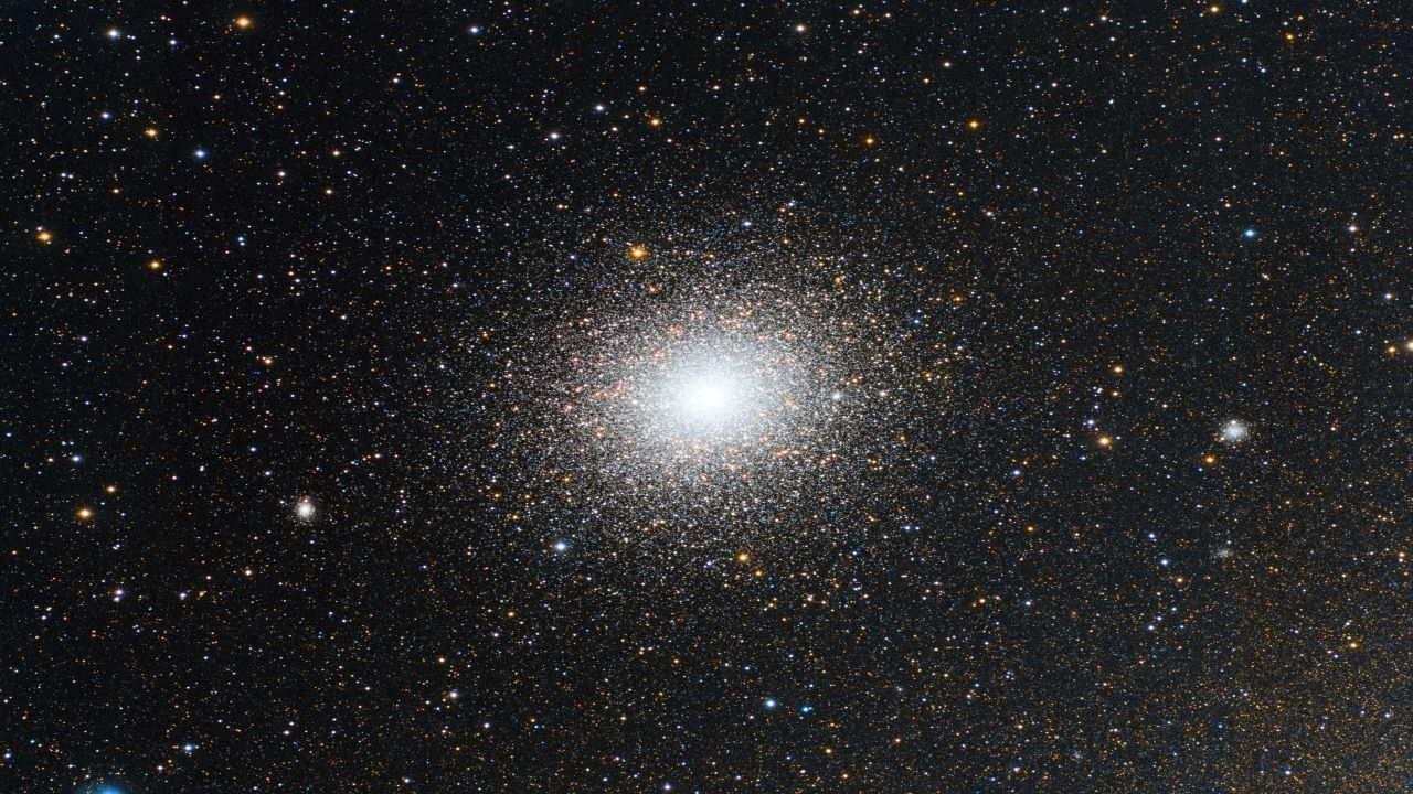 خوشه کروی ۴۷ توکان — تصویر نجومی