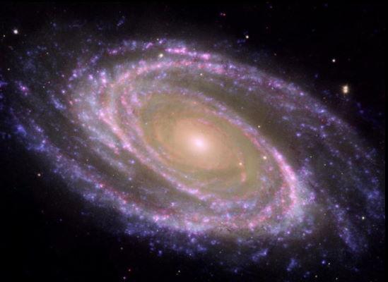 کهکشان مارپیچ